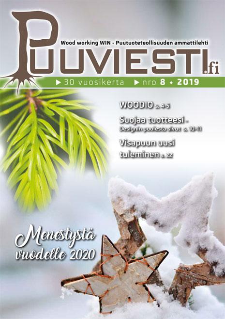Puuviesti nro 8/2019 Joulunumero