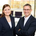 Jana Schönfeld and Sascha Groß are now sole Managing Directors of Hettich Holding; photo: Hettich