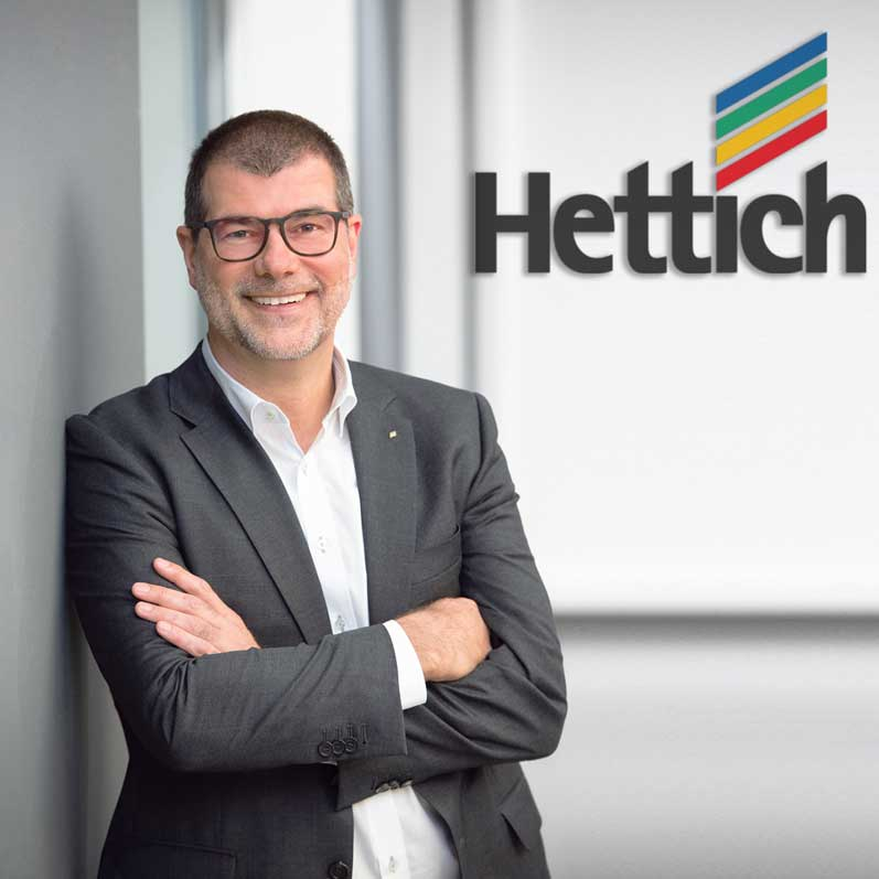 "Hettich Managing Director Uwe Kreidel: ""With HettichXperiencedays 2021, it is our ambition to stage a first class hybrid show which will be something that not only our customers will talk about for a long time to come."""
