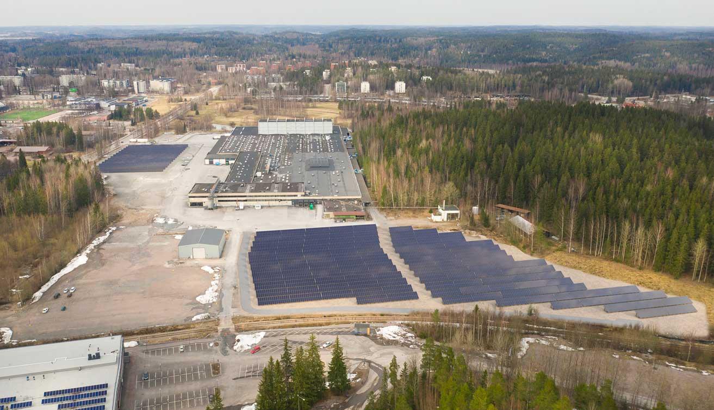 ISKUn aurinkosähköpuiston rakentaminen Lahdessa alkaa loppuvuodesta 2021 ja valmistuu vuoden 2022 aikana